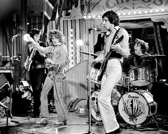 "The Who, ""A Quick One (While He's Away),"" from the Rolling Stones' Rock n' Roll Circus"