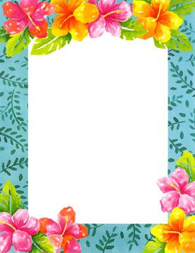 free printable Japanese floral art | Hawaiian themed Laser paper ...