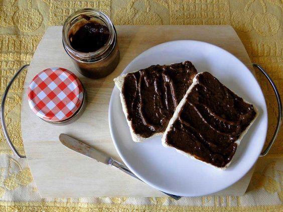 nutella casera sin azúcar apta para diabéticos