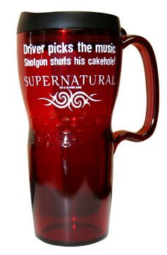 Amazon.com: SUPERNATURAL CAKEHOLE TRAVEL MUG: Everything Else @josh hardman