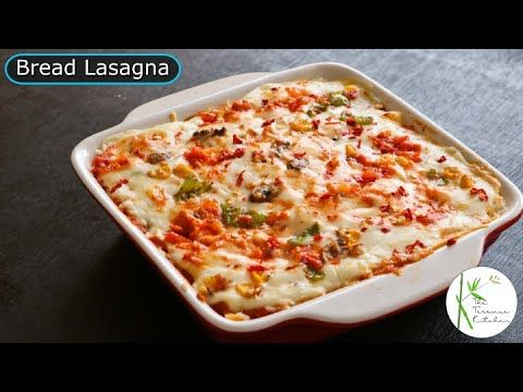 Vegetable Lasagna Using Bread Without Oven No Oven Lasagna Recipe The Terrace Kitchen Youtube Lasagna Recipe Eggless Lasagna Recipe Bread Lasagna Recipe