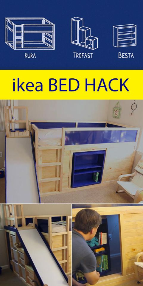 Crazy ingenious ikea Hack! Includes a secret room behind the ...