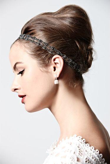 Headband + hair