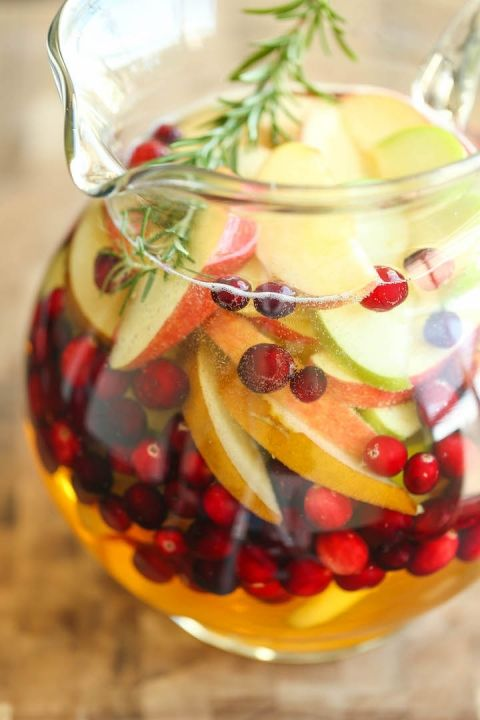 Apple Sangria | Recipe | Apple sangria, Thanksgiving and ...