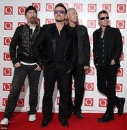 U2 - my favorite all time band!