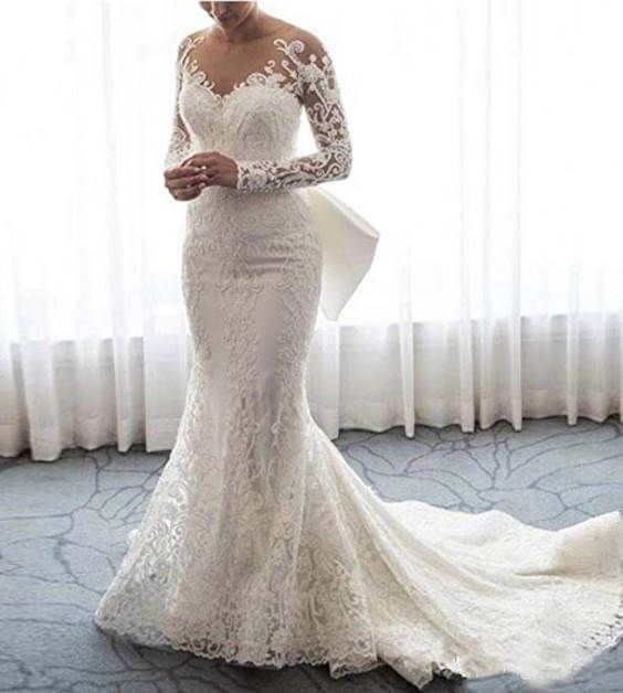 15 Detachable Train Wedding Dresses Under 200 Dollars For Brides Who Want A Removable Train Chiclypoised Wedding Dress Train Lace Mermaid Wedding Dress Detachable Train Wedding Dress