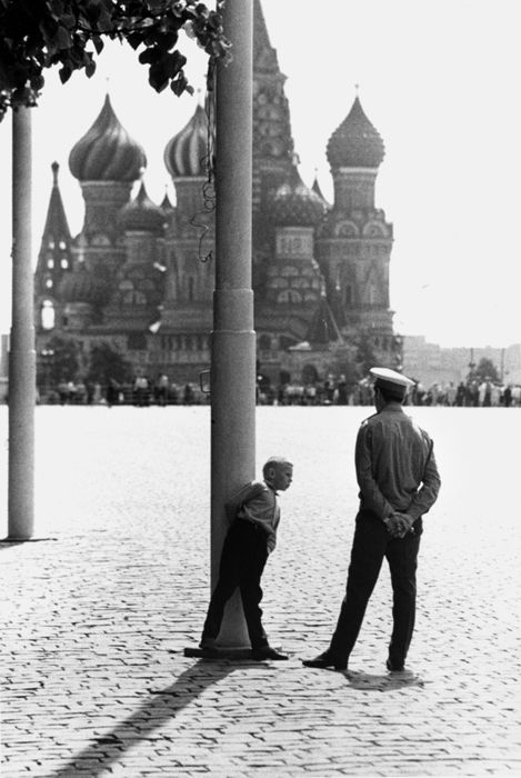 Moscow, Red Square, 1965 by Roger Melis: