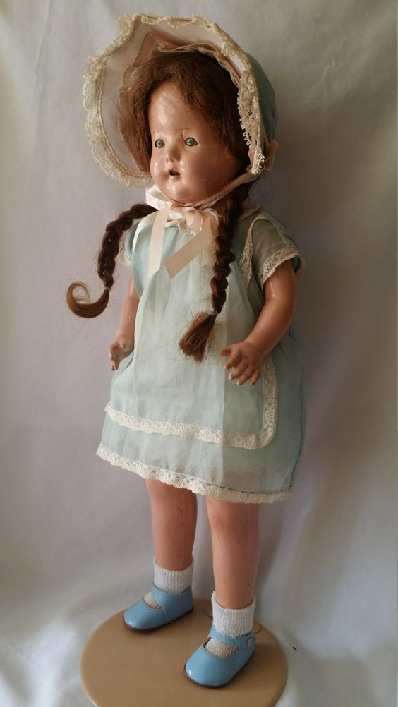 """Judy ~ Haunted Composition Doll 19"""" Paranormal Haunted Doll Supernatural Active Spirit ~ Chatterbox, Giggles, Good Energy by FugitiveKatCreations on Etsy"""