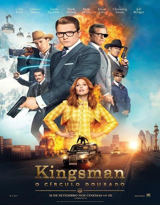 Kingsman O Circulo Dourado Dublado Download Livre Kingsman Filme Kingsman Filme Dublado