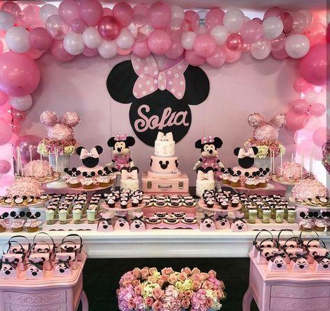 70 Ideas Birthday Decorations Baby Girl Minnie Mouse Minnie Mouse Birthday Decorations Minnie Mouse Birthday Theme Minnie Mouse Birthday Party Decorations