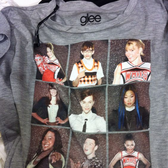 Glee shirt I found at Forever 21!