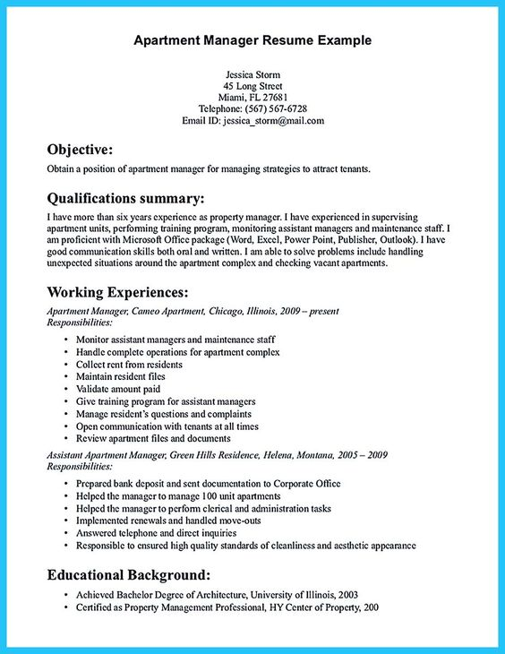 nice Writing a Great Assistant Property Manager Resume, Check more