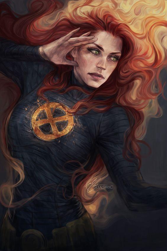 Jean Grey by Jasric