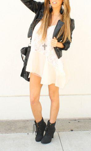 i love dresses, black, n a harder style