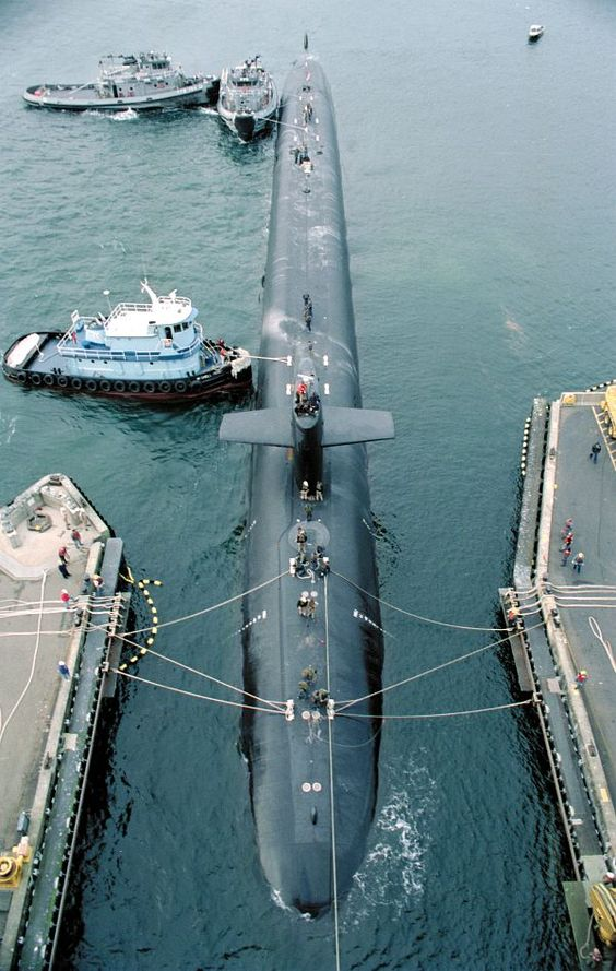USS Alaska @ Sub Base Bangor