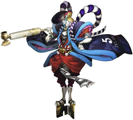 Goemon from Persona 5