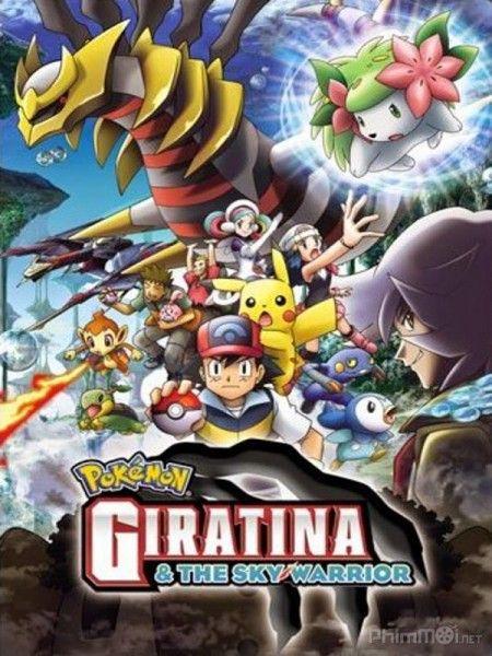 Phim Pokemon Movie 11: Giratina và bông hoa của bầu trời