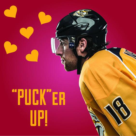 Nashville Predators - Shea Weber Valentine | Hockey Valentines ...