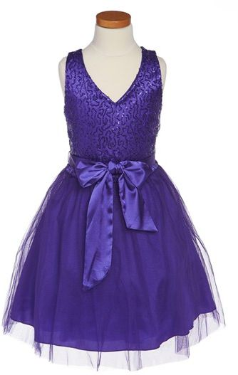 #Un Deux Trois            #Dresses                  #Deux #Trois #Sequin #Dress #(Big #Girls) #Purple   Un Deux Trois Sequin Dress (Big Girls) Purple 7                               http://www.seapai.com/product.aspx?PID=5202414