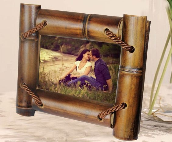"Bamboo Frame (5"" sheet size)"