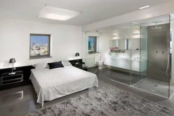 bedroom and bathroom 2 in 1 suites clever combos or risky designs bedrooms bath and design bathroom