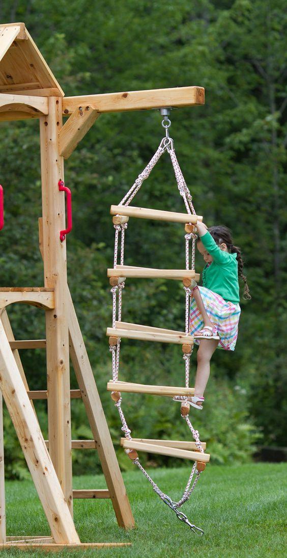 Family Backyard Toys Zipline : Design design, Backyards and For kids on Pinterest