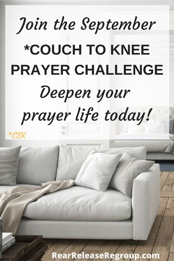 It's not too late to join the September Couch to Knee (C2K) Prayer Challenge and…