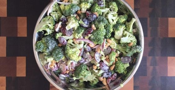 Salade de brocoli - Tricher salé - Jour de Triche