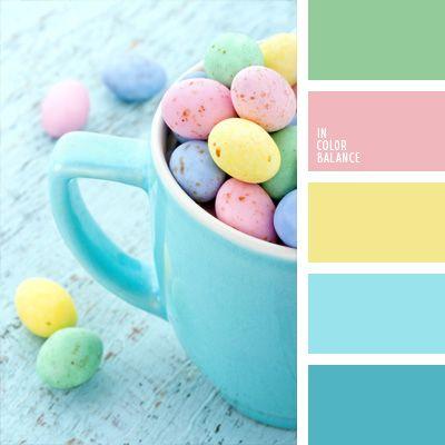 amarillo y rosado, color huevo de mirlo, color para bodas, colores para decorar…