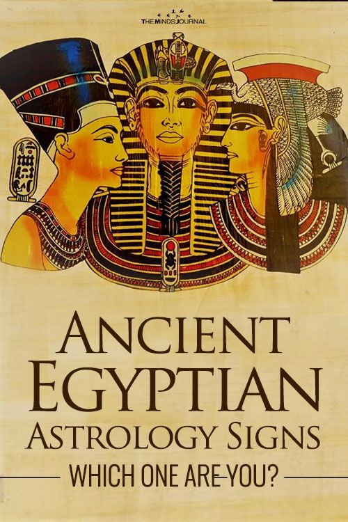 De 12 Egyptische God / Godin-astrologie: