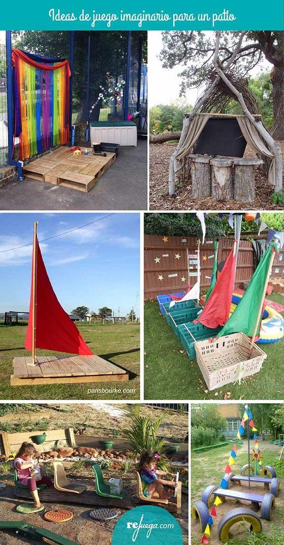Ideas para el juego simb lico en el patio de escuela - Ideas para patios ...