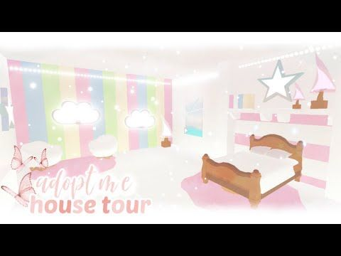 Roblox House Tour In Adopt Me Grace K Youtube Adoption Cute Room Ideas My Home Design