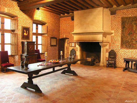 Le Clos Lucé in Amboise, France   le clos luce salle renaissance amboise chateau du clos luce indre et ...: