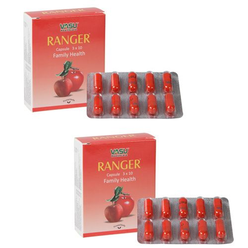 "2 x Ranger Capsule (Natural antioxidant) - - ""Expedited International Delivery by USPS / FedEx """
