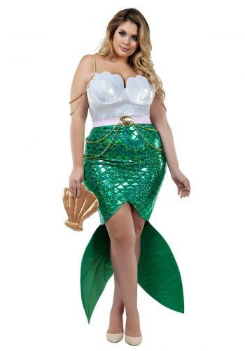 I'd like to be a mermaid with a spear through my stomach, so somewhat of a zombie/corpse mermaid. Pin On Sexy Plus Size Halloween Costumes For Women