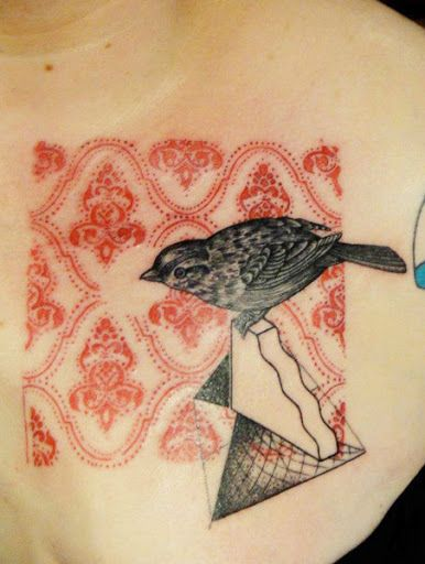 Abstract Animal Tattoo by Xoil Tattoo