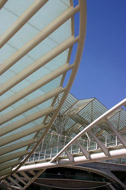 Estación de Oriente en Lisbon - Santiago Calatrava