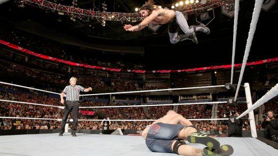 John Cena vs. Seth Rollins: photos