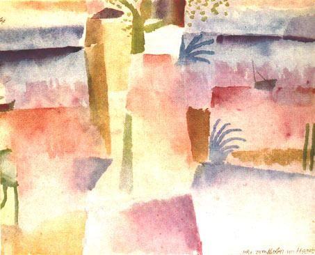 Paul Klee > en tunisie tjrs ACCORDS + HARMONIE COLOREE + GEOMETRIE COLOREE ce tient en retrait pdt guerre donc pt continuer production