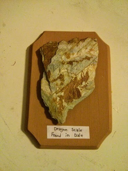 Smaug's Scale - Wood and Stone
