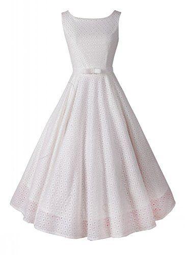 Anni Coco Women's 50s Vintage Lace Crochet Dresses White Small Anni Coco http://www.amazon.com/dp/B00WJAYLEK/ref=cm_sw_r_pi_dp_1CEovb1J3BNBX