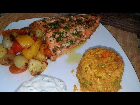 تتبيلة سحرية لسمك السلمون في الفرن بنكهة مميزة ومذاق رائع Saumon Au Four Youtube Food Breakfast Chicken