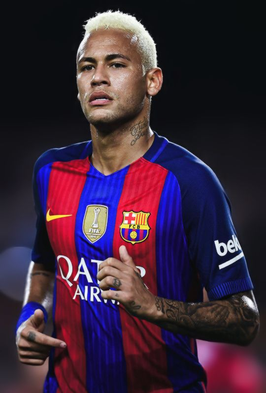 Neymar during the La Liga match between FC Barcelona and Deportivo Alaves at…