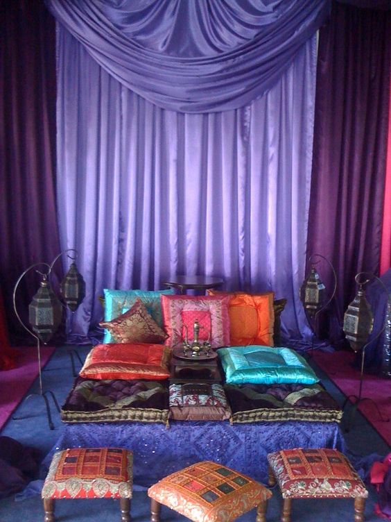 Arabian nights theme decor and furniture rentals www for Arabian nights decoration ideas