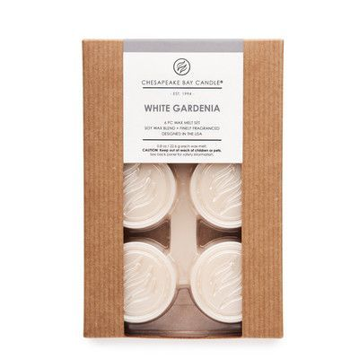 Chesapeake Bay Candles Hertitage White Gardenia Wax Melt Candle