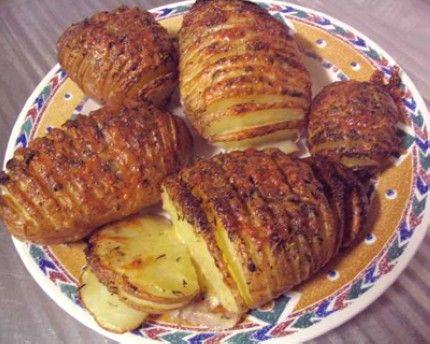 Weight Watchers Sliced Baked Potatoes
