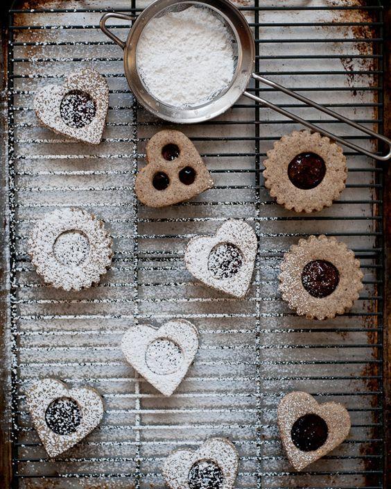 Galletas Linzer sin gluten | 33 Postres increíbles libres de gluten