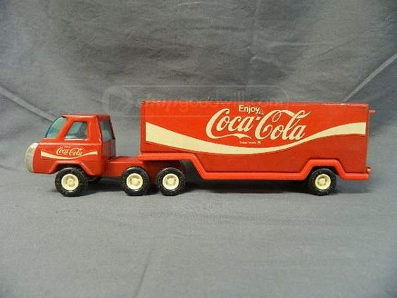 shopgoodwill.com - #15754603 - Metal Buddy l Coca Cola Semi - 3/12/2014 6:55:34 AM