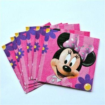 Servilleta Minnie Mouse - Artículos de Fiesta