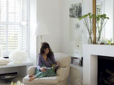interni bianchi non devono guardare fresco o triste - interni di oggi emanano calore e l'atmosfera accogliente e la casa ...